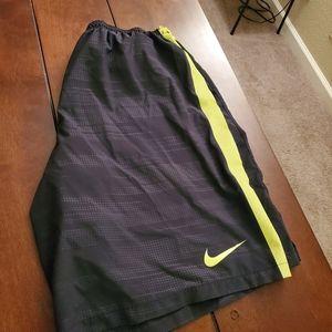 Nike workout shorts, missing drawstring